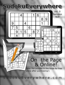 Front Cover of the Sampler Puzzle book